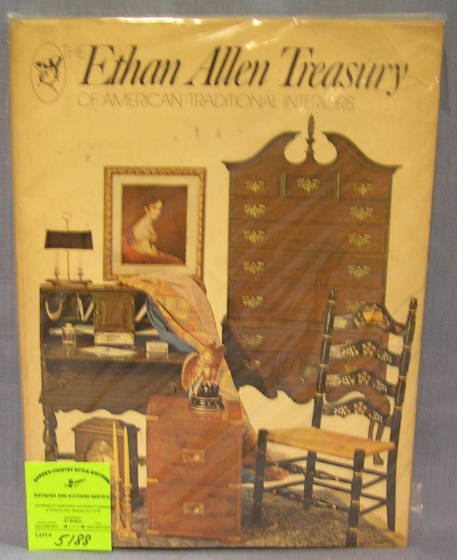 Great Early Vintage Ethan Allen Furniture Catalog Lot 5188