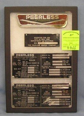 Vintage Peerless Oscillating Electric Fan Lot 339