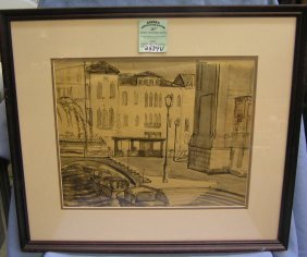 Artist Signed Dan Murphy Original Sketch
