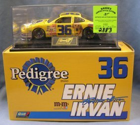 Nascar Ernie Irving Race Car #36 Pedigree Dog Food