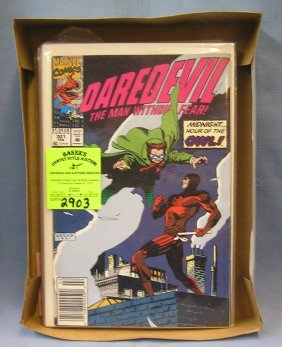 Marvel Comic Books Featuring Daredevil, Blood Seed And