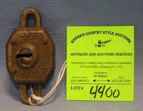 Antique Dual End Lock