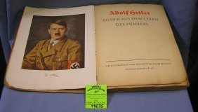 Early Adolf Hitler Real Photo Illustrated Book