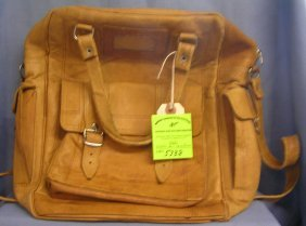 High Quality All Leather Vintage Handbag