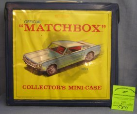 Vintage Official Matchbox Collectors Display Case