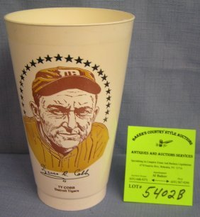 Vintage Ty Cobb Detriot Tigers Sports Cup