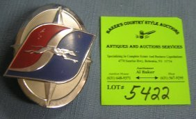 Vintage Greyhound Bus Employees Badge