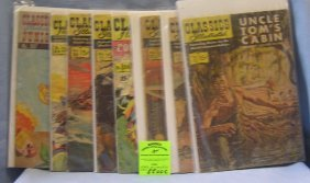 Group Of Vintage Classic Illistrated Comic Books