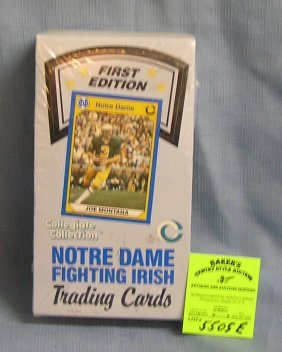 Notre Dame Fighting Irish All Time Great Trading Cards