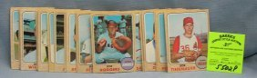 Group Of Vintage 1968 Topps Baseball Cards