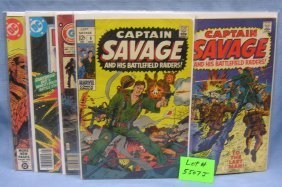 Group Of Early Military And War Themed Comic Books