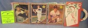 Ny Yankees Christmas Pack Of Baseball Cards