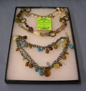 Pair Of High Quality Costume Jewelry Necklaces