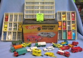 Large Group Of Vintage Match Box Cars,