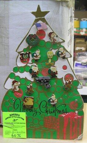 Merry Christmas, Christmas Tree Store Display