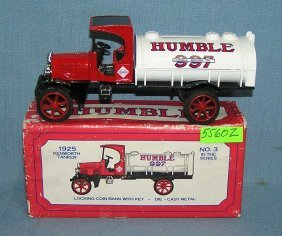 1925 Humble Tanker Truck Bank