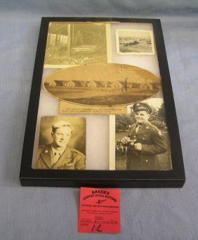 Vintage Wwii Photo Group