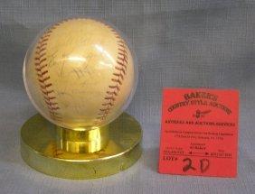 1973 Nat. League Autographed Baseball