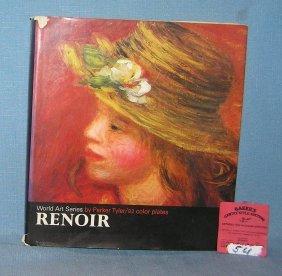 Vintage Renoir Art Book