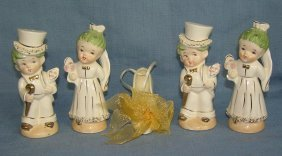 Wedding Couple Salt And Pepper Shaker Sets