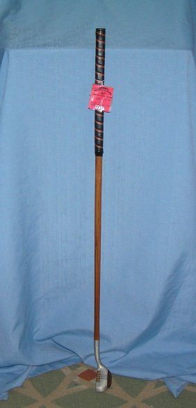 Vintage Hickory Shafted Putter Golf Club