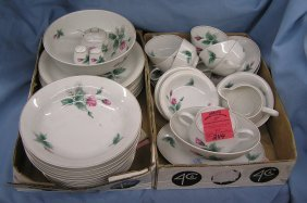 Floral Decorated Rosenthal Dinnerware Set