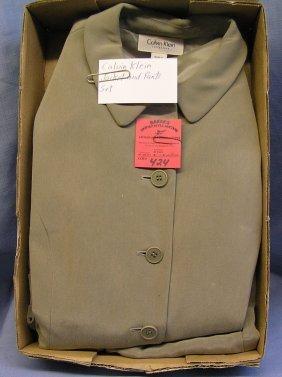Vintage Calvin Klein Jacket And Pants Set