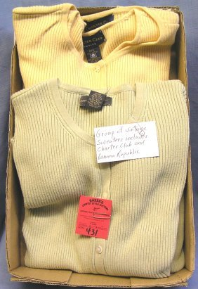 Charter Club And Banana Republic Vintage Sweaters