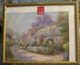 Thomas Kinkade Artist Signed Puzzle Print