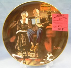 Vintage Norman Rockwell Collector Plate