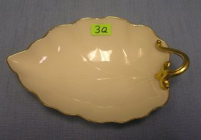 Quality Lenox Leaf Shaped Serving Dish