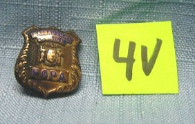 Vintage Nassau County Ny Policeman's Badge