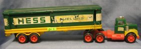 Early Hess Toy Delivery Truck