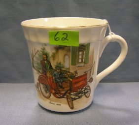 Mercedes Benz Horseless Carriage Coffee Mug