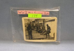 Wwii Military Prisoners Of War Photo