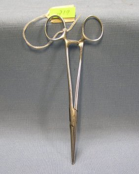 Pair Of Antique Medical Forceps