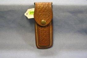 Vintage Leather Case Knife Case