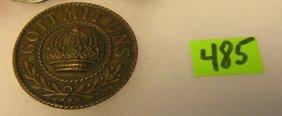 Early Wwi German Brass Badge