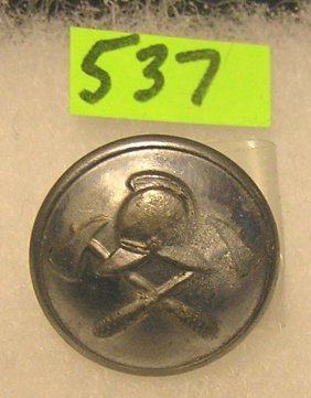 Wwii German Fire Man Button