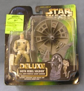 Star Wars Play Set Deluxe Hoth Rebel Soldier