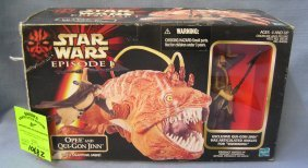 Star Wars Play Set Opee And Qui-gon Jinn