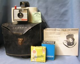 Vintage Polaroid Swinger Land Camera