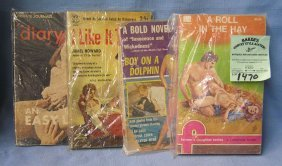 Group Of Four Vintage Erotica Related Books