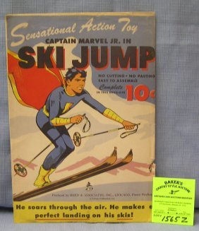 Early Capt. Marvel Junior Ski Jump Toy