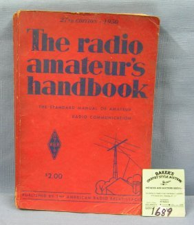 The Radio Amateur Hand Book Circa Wwii