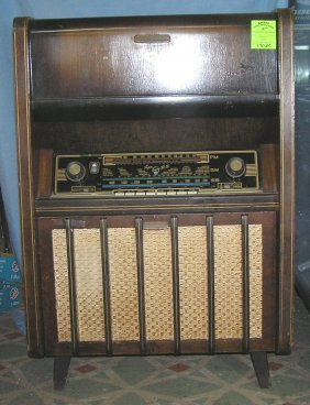 Vintage Blaupunkt Radio And Phonograph