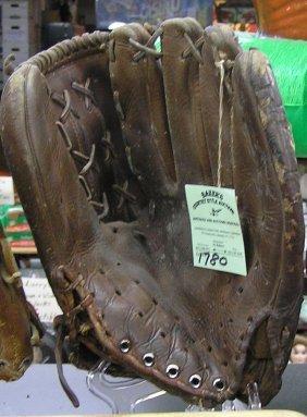 Hank Aaron Baseball Glove By Macgregor Co.