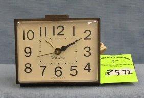 Vintage West Clock Electric Alarm Clock