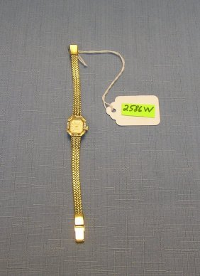 Quality Gold Plated Woman's Wrist Watch