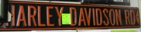 Vintage Style Harley Davidson Rd Wall Sign